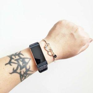 Jewelry - Stainless Steel Heart Cuff Bracelet
